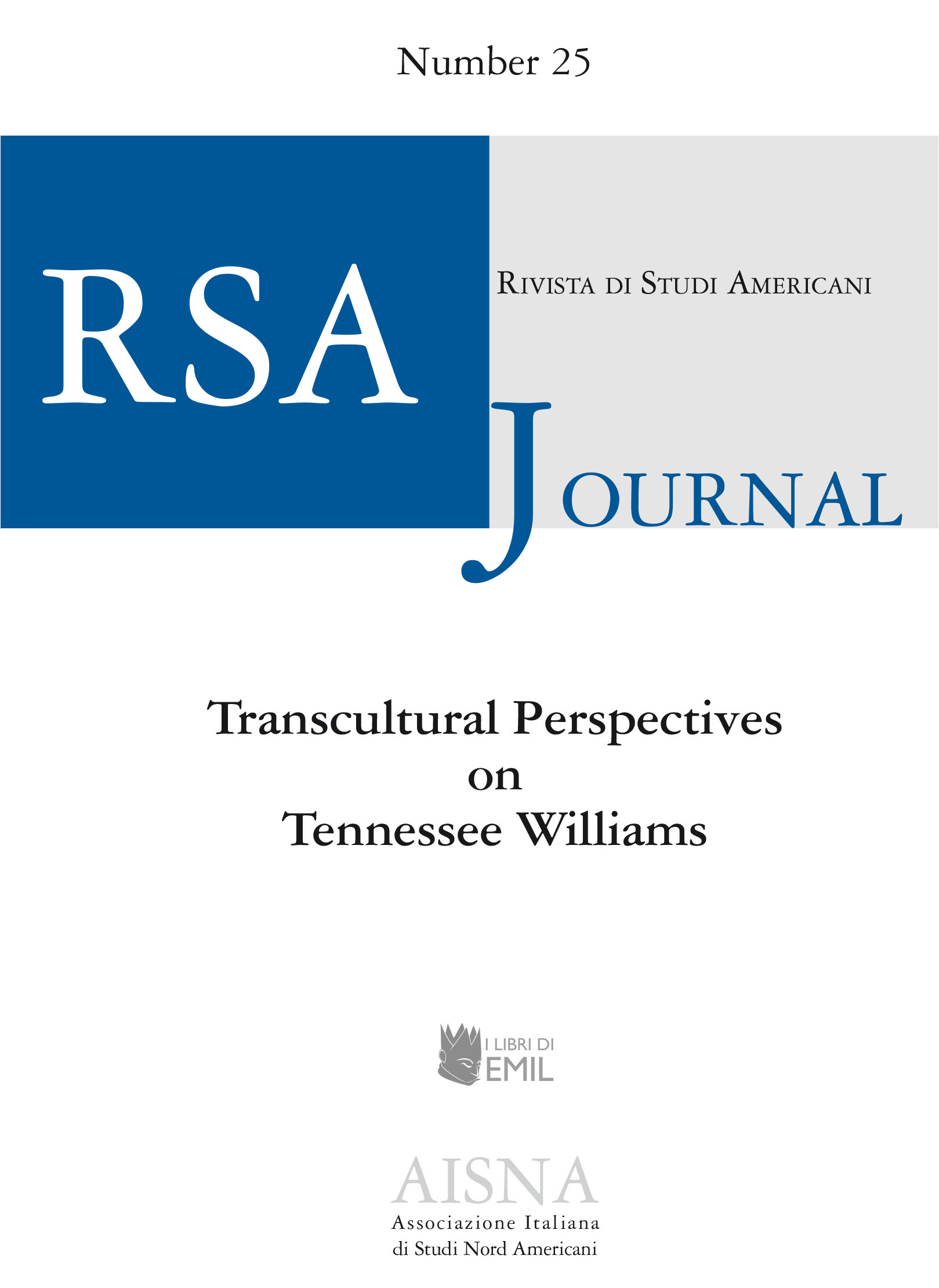 RSA Journal - Rivista Studi Americani, 25